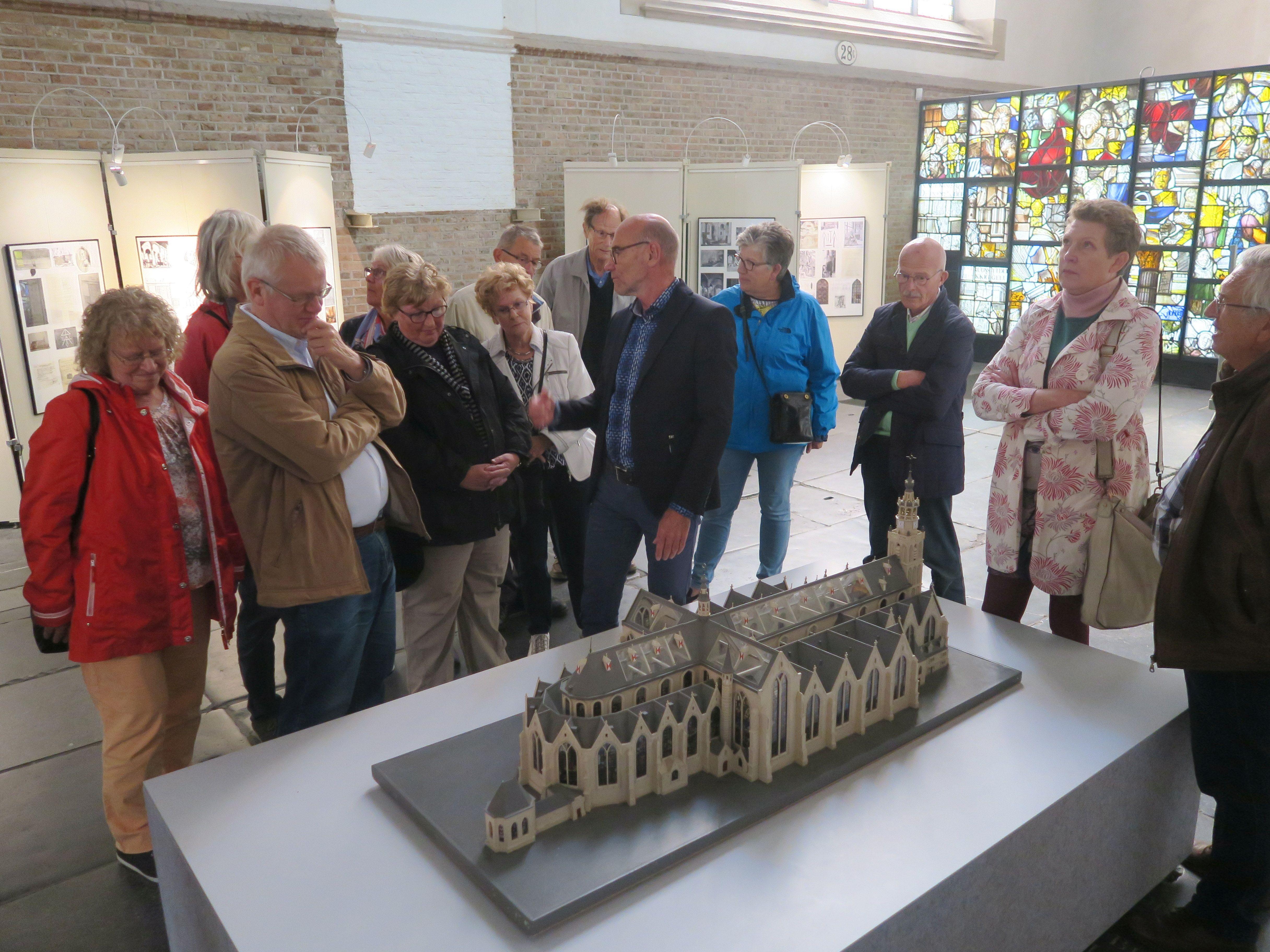 Excursie Sint-Janskerk Gouda 21 september 2018