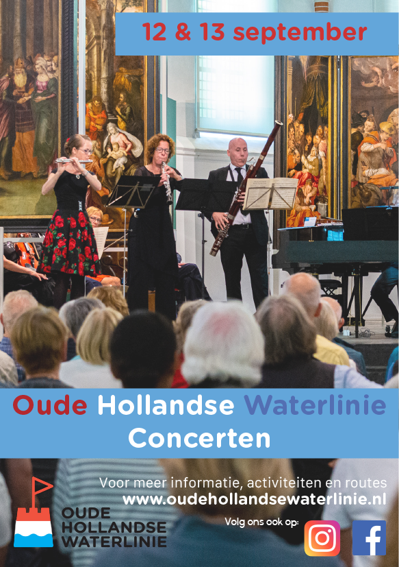 Oude Hollandse Waterlinie concerten