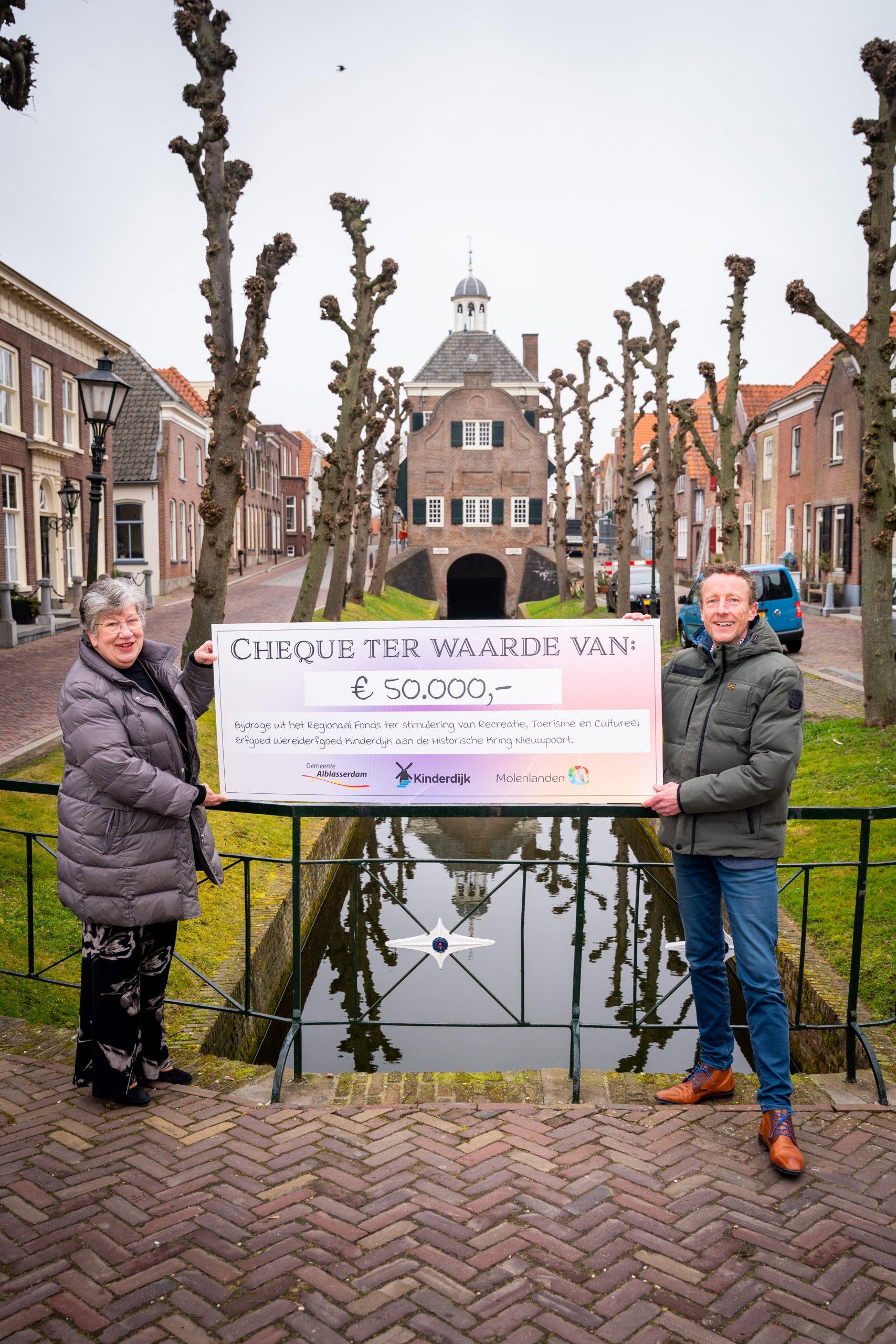 50.000 euro voor Historische Kring Nieuwpoort
