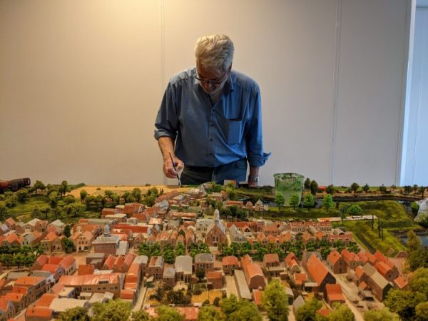 Jan Blonk en de maquette