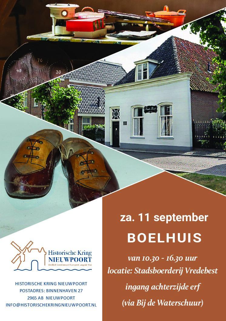Boelhuis Stadsboerderij Vredebest, Nieuwpoort